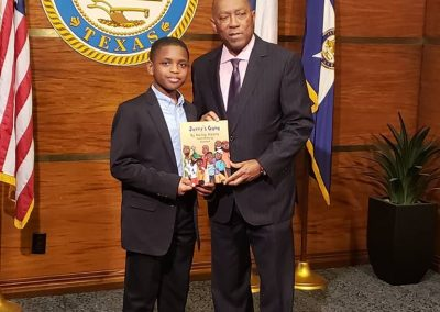 mayor sylvester turner with jerry's gang